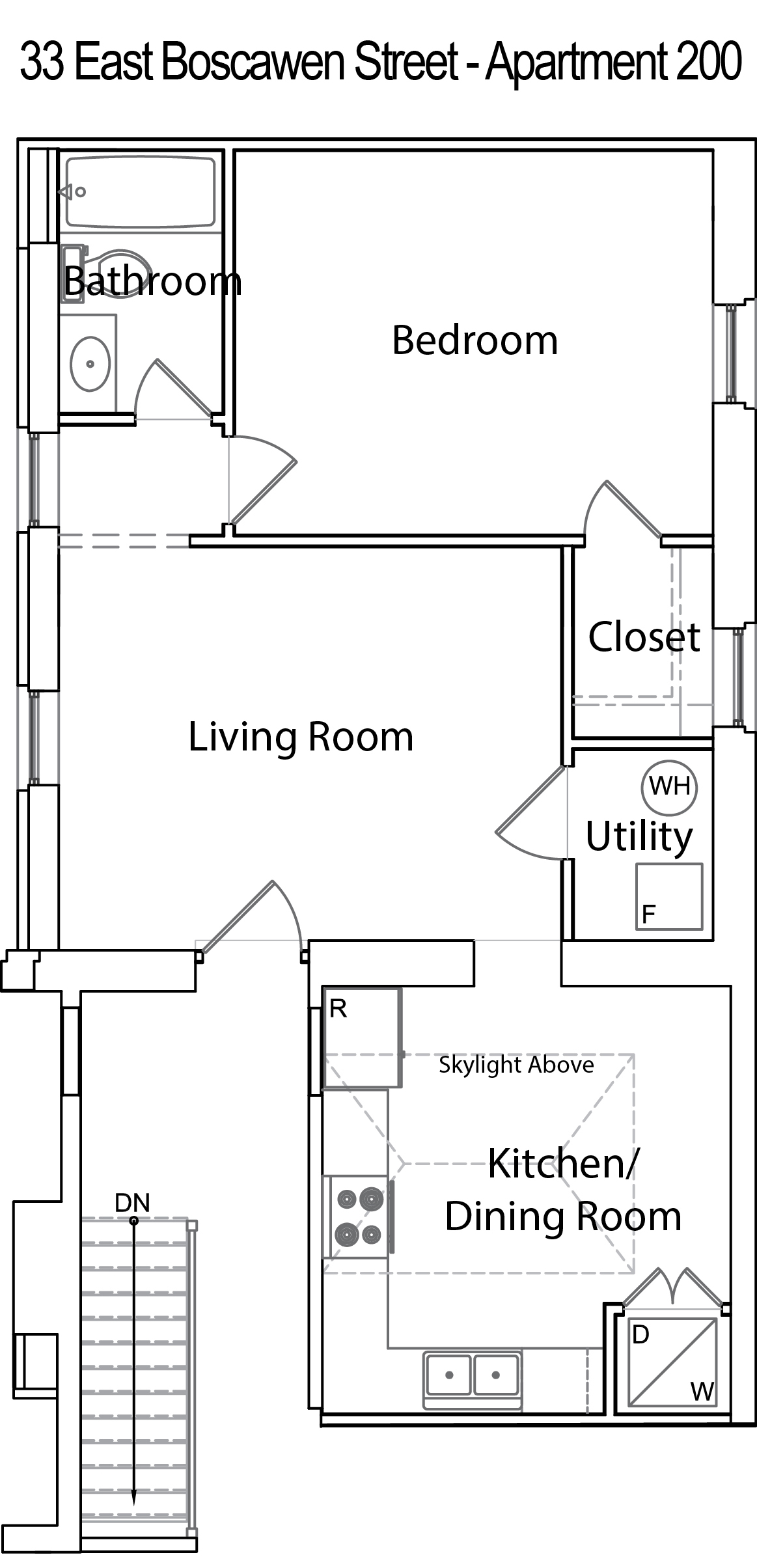 Apartment Dimensions Sugar Creek Apartments Very Narrow